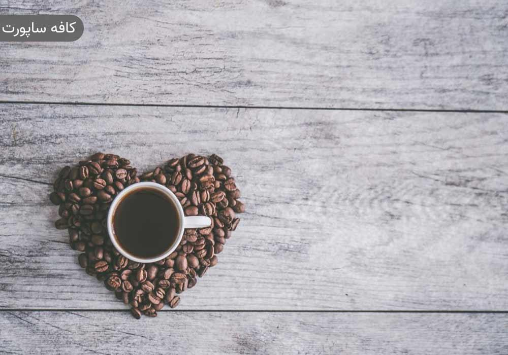 خوردن دانه قهوه