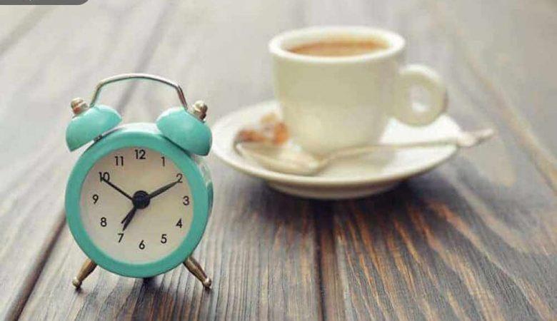 زمان مناسب مصرف قهوه