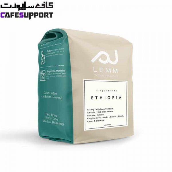 قهوه اتیوپی (یرگاچف) لم (1 کیلوگرم)