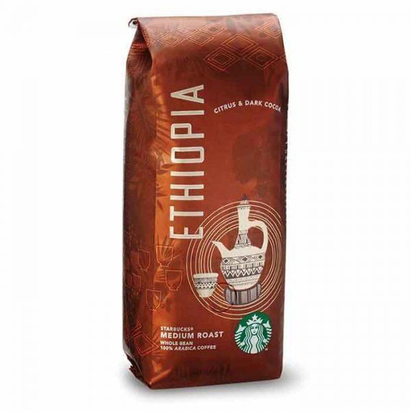 قهوه استارباکس اتیوپی