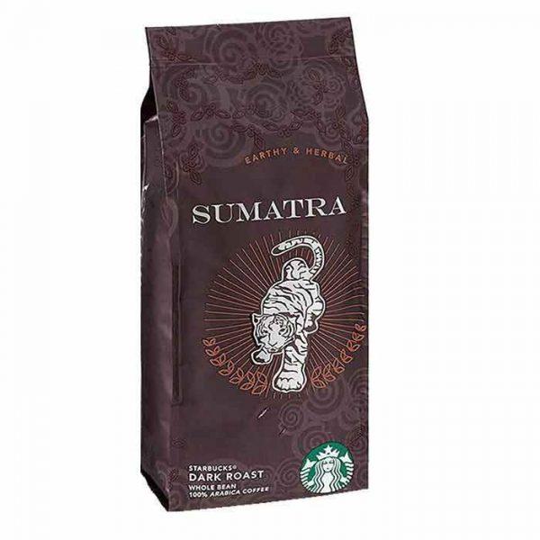 دانه قهوه استارباکس سوماترا