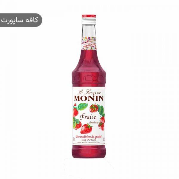 سیروپ توت فرنگی مونین (1 لیتر)