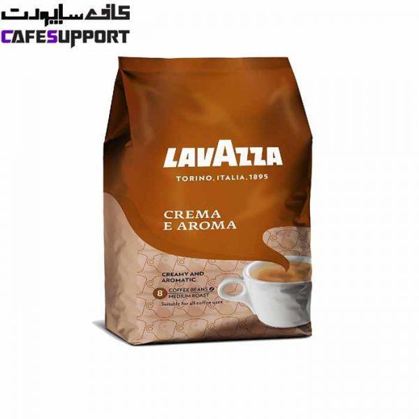 دانه قهوه لاوازا کرما آروما LAVAZZA CREAMA E AROMA