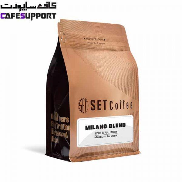 دانه قهوه Milano Blend «قهوه ست»