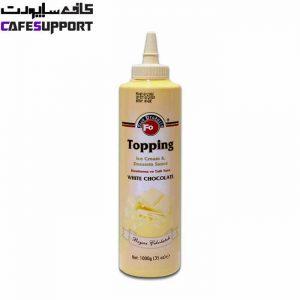 سس تاپینگ شکلات سفید فو