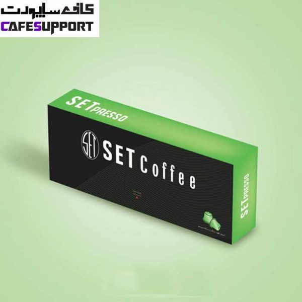 کپسول قهوه ست مدل Green