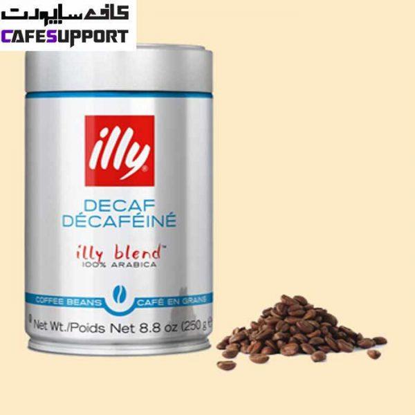 دانه قهوه ایلی بدون کافئین (دی کف)