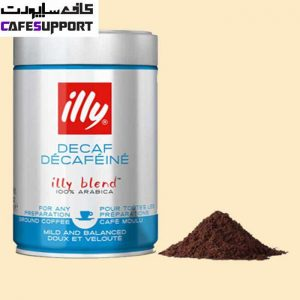 پودر قهوه ایلی بدون کافئین (دی کف)