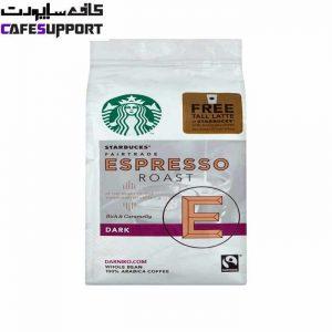 دانه قهوه استارباکس اسپرسو دارک رست