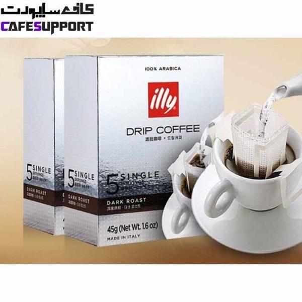 قهوه فیلتر ایلی دارک رست