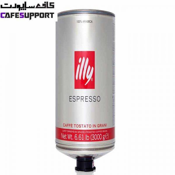 دانه قهوه اسپرسو ایلی مدیوم رست (سیلندر 3 کیلوگرم)