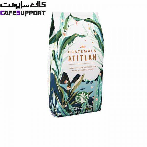 دانه قهوه گواتمالا آتیتلان استارباکس