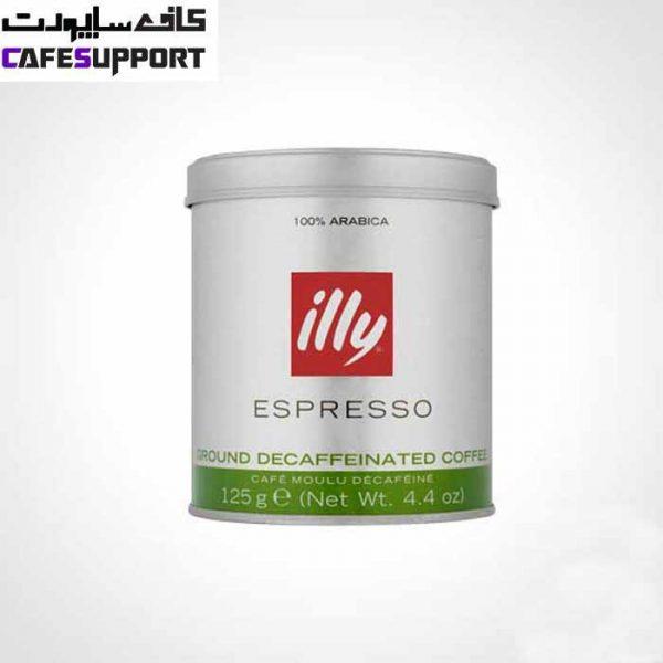پودر قهوه ایلی اسپرسو بدون کافئین (دی کف)
