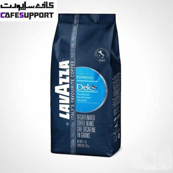 دانه قهوه لاوازا Dek Espresso (اسپرسو دکافئین)