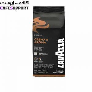 دانه قهوه لاوازا Expert Crema & Aroma (اکسپرت کرما آروما)