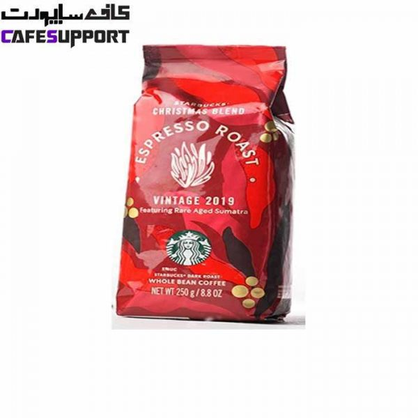 دانه قهوه استارباکس کریسمس بلند اسپرسو رست