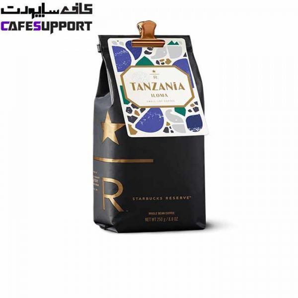 دانه قهوه استارباکس تانزانیا ایلوما
