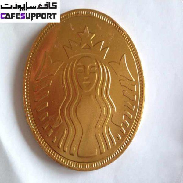 شکلات تلخ سکه ای استارباکس