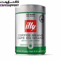 دانه قهوه ایلی اسپرسو بدون کافئین (دی کف)
