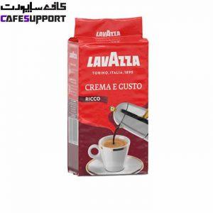 پودر قهوه لاوازا کرما گوستو ریکو (crema Gusto ricco)