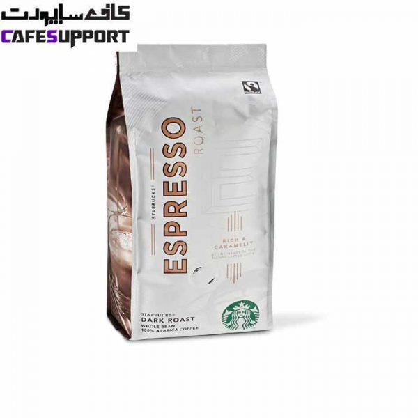 دانه قهوه استارباکس دارک رست اسپرسو