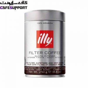 قهوه ایلی فیلتر دارک رست (Illy Filter Coffee Dark)