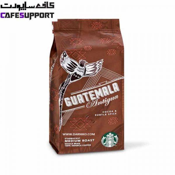 دانه قهوه استارباکس گواتمالا آنتیگوا