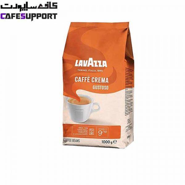دانه قهوه لاوازا Caffe Crema Gustoso