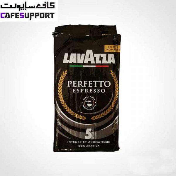 پودر قهوه لاوازا perfetto espresso