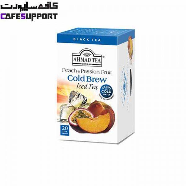 چای سرد هلو و میوه های وحشی احمد (Ahmad tea)