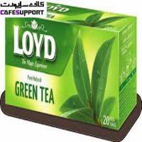 چای سبز کیسه ای لوید (Loyd Green Tea)