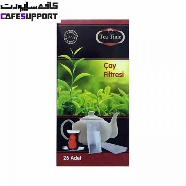 فیلتر چای و دمنوش یکبار مصرف تی تایم (Tea Time)