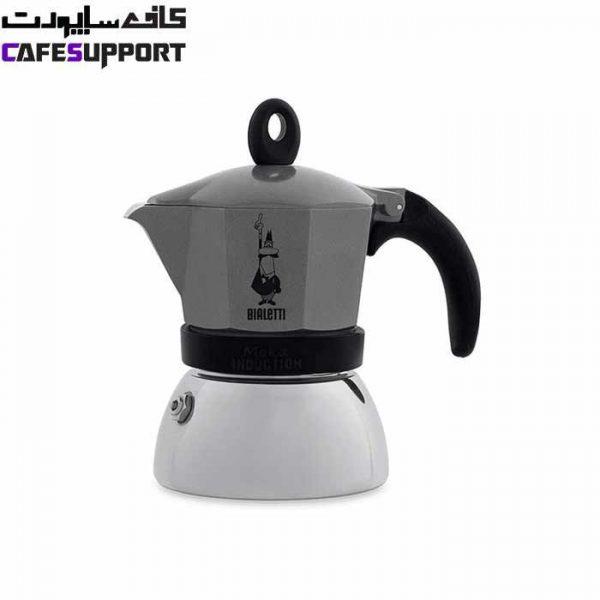 قهوه ساز بیالتی موکا اینداکشن طوسی –(3 نفره)