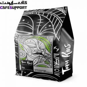 دانه قهوه 80% عربیکا تام کینز
