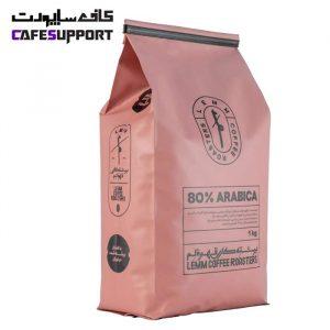 قهوه 80% عربیکا لم