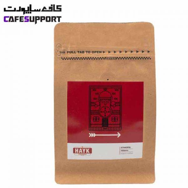 دانه قهوه اتیوپی سیدامو هایک