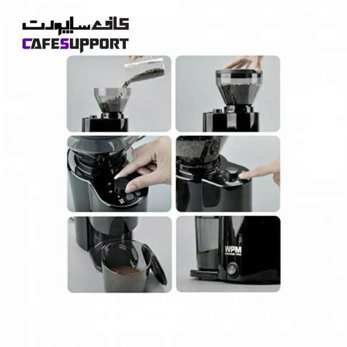 آسیاب قهوه WPM مدل ZD 10T