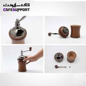 آسیاب دستی قهوه هاریو Hario coffee mill dome