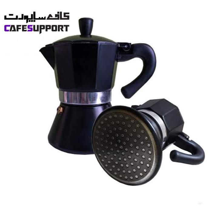 قهوه ساز موکاپات مدل 3 کاپ مشکی