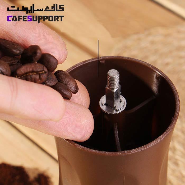آسیاب قهوه دسته تاشو خانگی کد 101