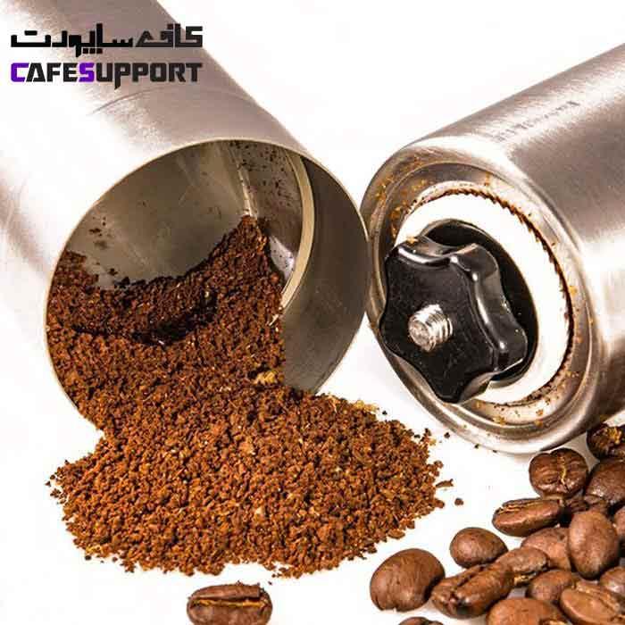 آسیاب قهوه دستی فلزی سایز 2