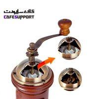آسیاب قهوه دستی چوبی گتر