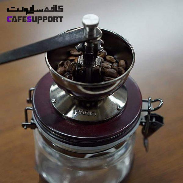 آسیاب دستی قهوه هاریو مدل Hario Canister
