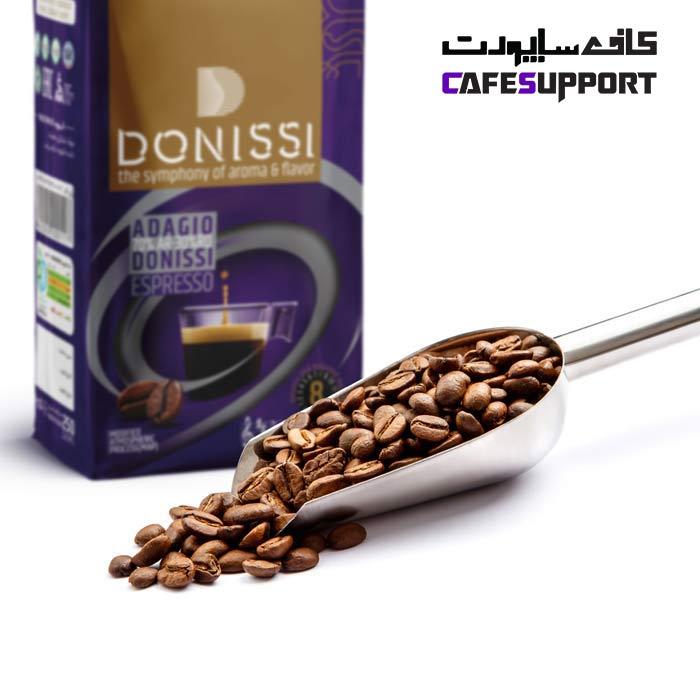 دانه قهوه آداجیو (Adagio) دونیسی