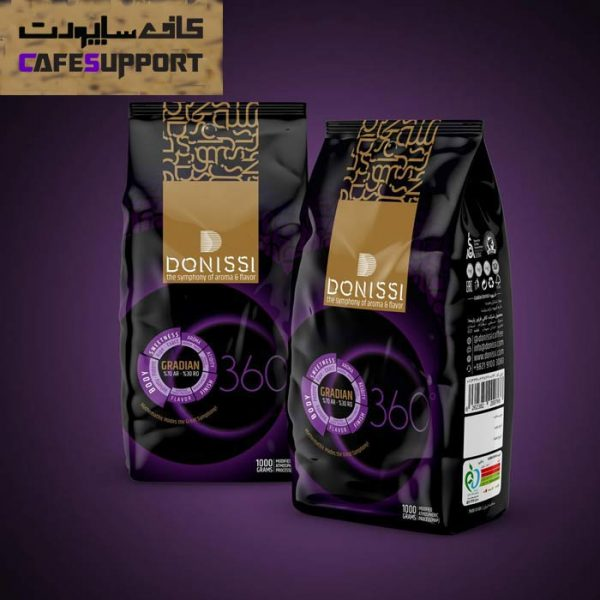 دانه قهوه دونیسی گرادیان (Gradian)